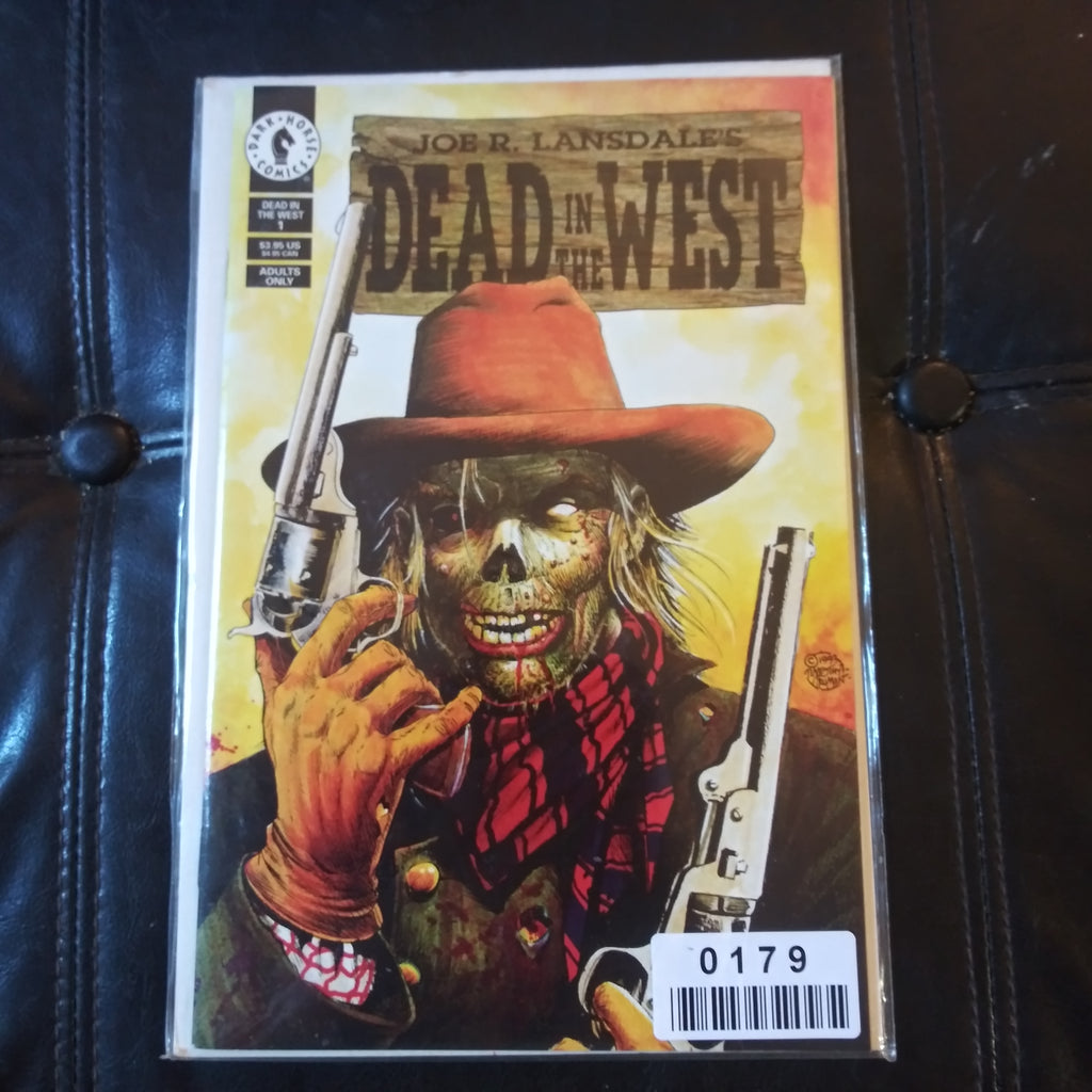 Dead In The West #1 Dark Horse Comics Joe Lansdale Horror