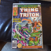 Marvel Comics Two In One The Thing and Triton #65 (NEWSSTAND) 1980 Serpents