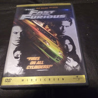 The Fast and the Furious DVD - Paul Walker - Vin Diesel