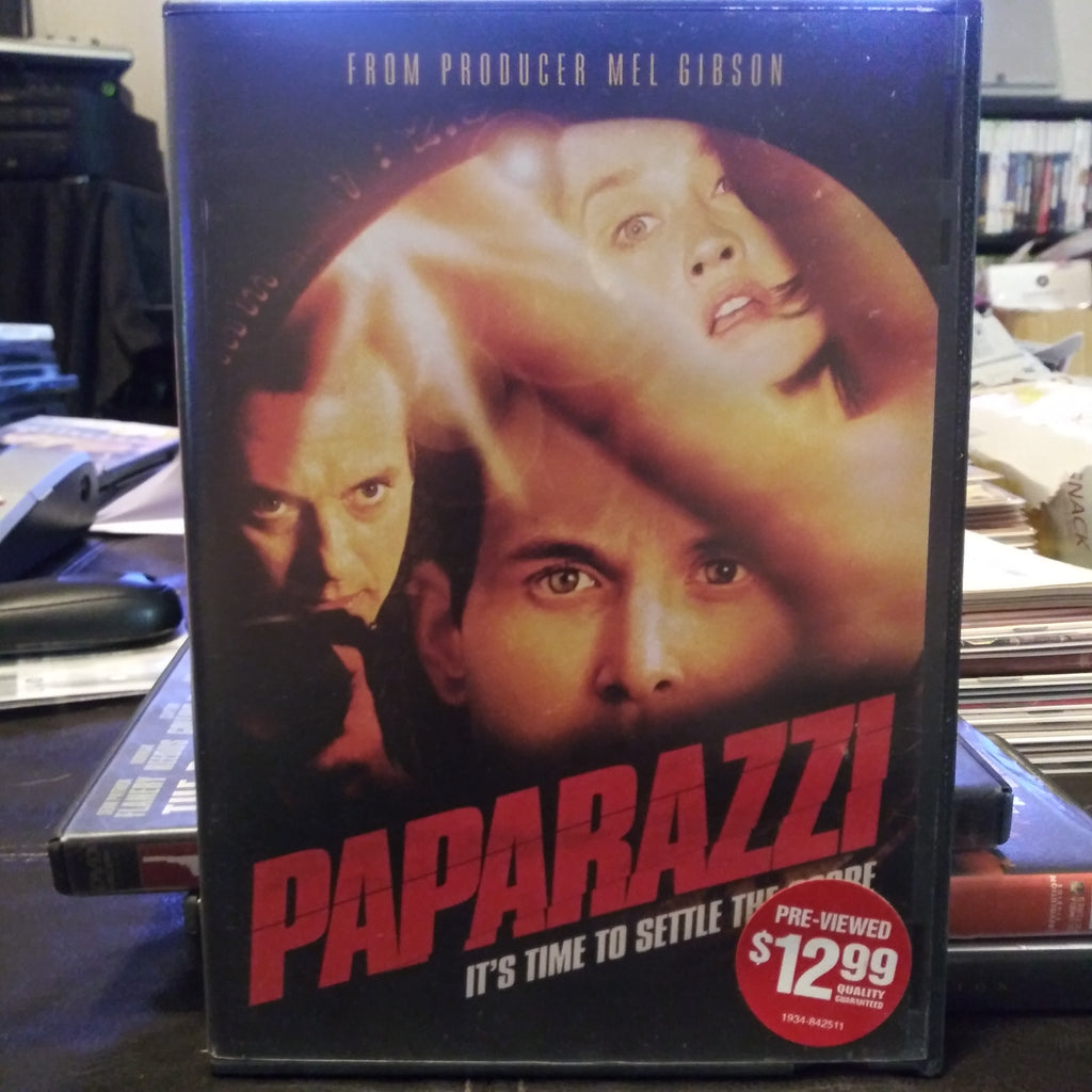 Paparazzi Fullscreen & Widescreen DVD - Mel Gibson Production 2005
