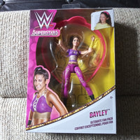 2017 Mattel WWE Supserstars Bayley Ultimate Fan Pack - Figure & Headband SEALED NEW