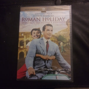 Roman Holiday Sealed Paramount Collection DVD - Gregory Peck - Audrey Hepburn