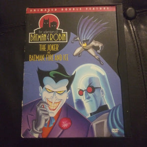 The Adventures of Batman & Robin Double Feature Snapcase DVD - The Joker & Fire and Ice