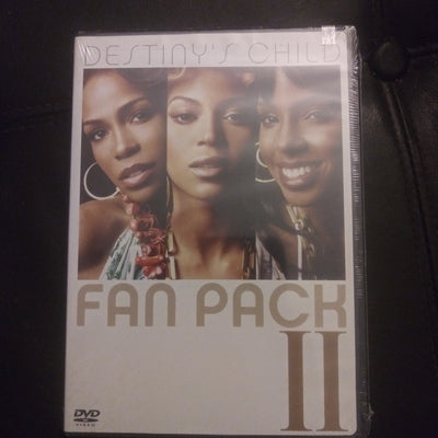 Destiny's Child Fan Pack II NEW DVD - Beyonce - Kelly Rowland - Michelle Williams Music Videos
