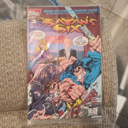 Satan's Six #3 of 4 - Topps Comics - Bagged with Trading Cards (1993)
