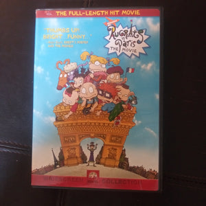 Rugrats In Paris Full Length Hit Widescreen Movie DVD - Cartoon - Nickelodeon