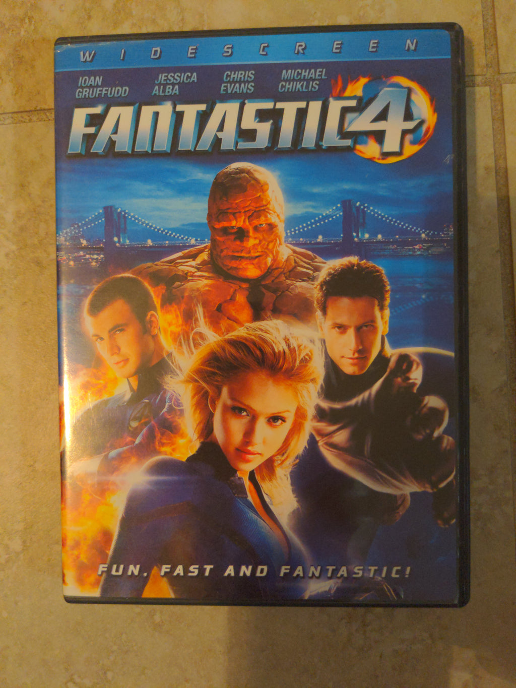 Fantastic Four Widescreen DVD with Chapter Insert (2009)