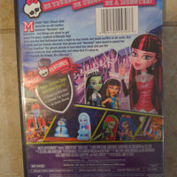 Monster High Ghouls Rule Animated DVD (2012)