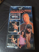 WWF Insurrextion Wrestling SEALED NEW VHS Tape 3 hours UK Exclusive Event