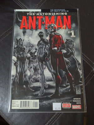 The Astonishing Ant-Man #1 Comic (2015) - Origin