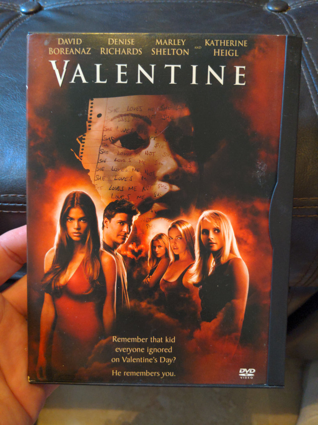 Valentine RARE Snapcase Horror DVD - Denise Richards - David Boreanaz - Katherine Heigl