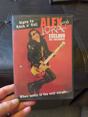 Alex Lora - Slave To Rock n Roll DVD Escalvo Del Rocanrol