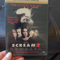 Scream 3 Dimension Collector's Series DVD with Chapter Insert - Horror