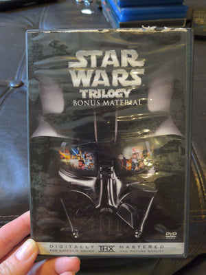 Star Wars Trilogy Bonus Material DVD with booklet