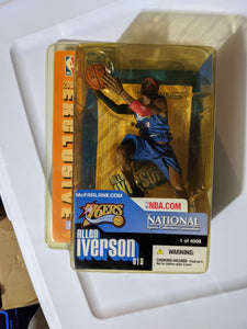 2004 McFarlane Sealed Allen Iverson 1 of 4008 Convention Exclusive Figure