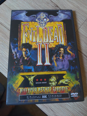 Evil Dead II: Dead By Dawn DVD - Bruce Campbell Horror Ash