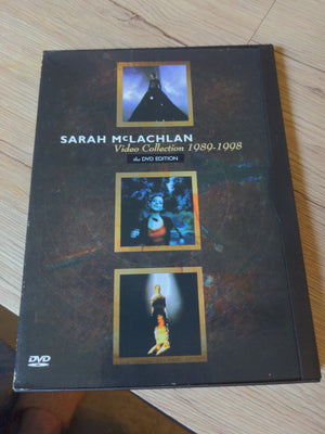 Sarah McLachlan Video Collection 1989-1998 Snapcase DVD Edition