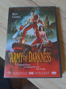 Army Of Darkness Limited Edition 2 DVD Set #12122 of 30k Theatrical & Director's Cuts