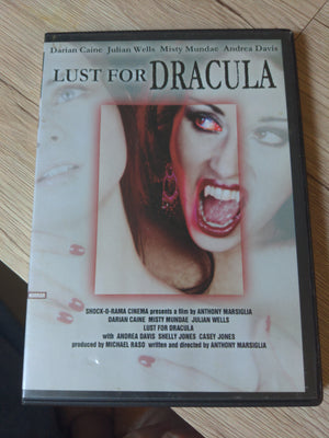 Lust For Dracula RARE OOP Horror DVD - Misty Mundae - Darian Caine - Julian Wells