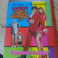 Austin Powers The Spy Who Shagged Me DVD with Insert Booklet