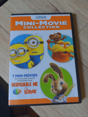 Illumination Entertainment 7 Mini-Movie Collection DVD - Despicable Me - Lorax - Hop