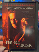 A Perfect Murder Special Edition Snapcase DVD - Michael Douglas - Gwyneth Paltrow