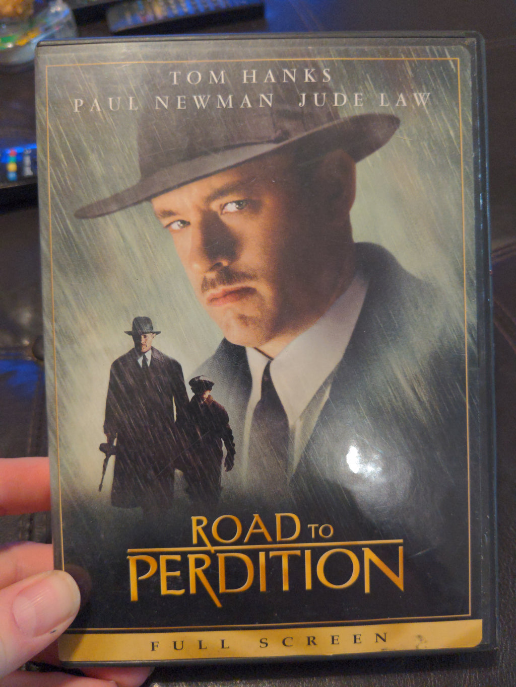 Road To Perdition Full Screen DVD - Tom Hanks - Paul Newman - Jude Law