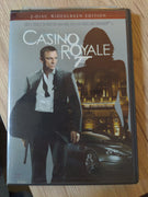 007 Casino Royale 2 Disc Set Edition DVD - Daniel Craig as James Bond