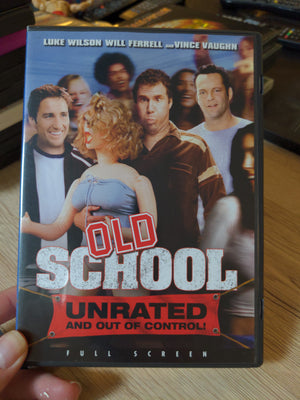Old School Unrated and Out of Control Widescreen DVD - Luke Wilson - Will Ferrell - Vince Vaughn