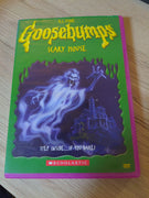Goosebumps Scary House Scholastic R.L. Stine Horror DVD
