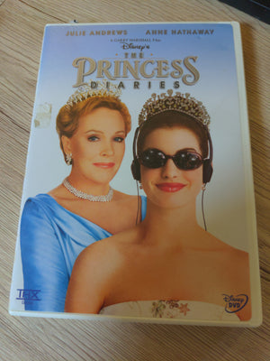 Walt Disney The Princess Diaries with Chapter Insert - Julie Andrews - Anne Hathaway