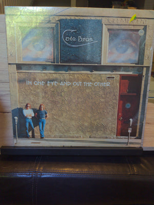 Cate Bros In One Eye And Out The Other Sealed LP (1976)