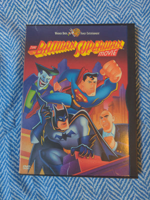 The Batman Superman Animated WB Movie Snapcase DVD