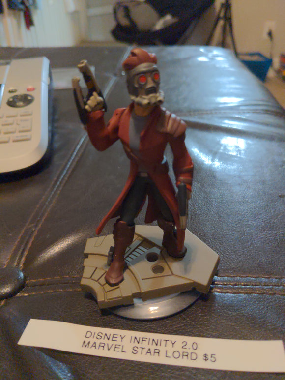 Disney Infinity 2.0 Marvel Star Lord Guardians of the Galaxy