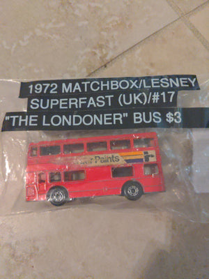 1972 Matchbox / Lesney Superfast (UK) #17 The Londoner Double Decker Bus