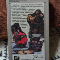 WWF Attitude Collection VHS - The Undertaker The Phenom SEALED