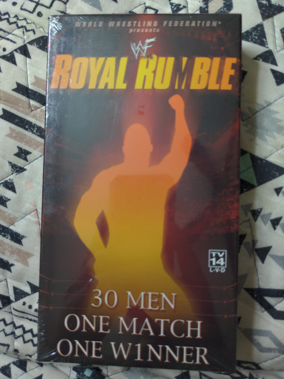 2002 WWF Wrestling VHS Tape - Royal Rumble SEALED NEW