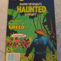 Charlton Comics: Baron Weirwulf's Haunted Library #61 (1982) Greed