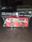 "1984 Corgi Juniors (UK) Daimler Fleetline ""See More London"" Double Decker Bus"
