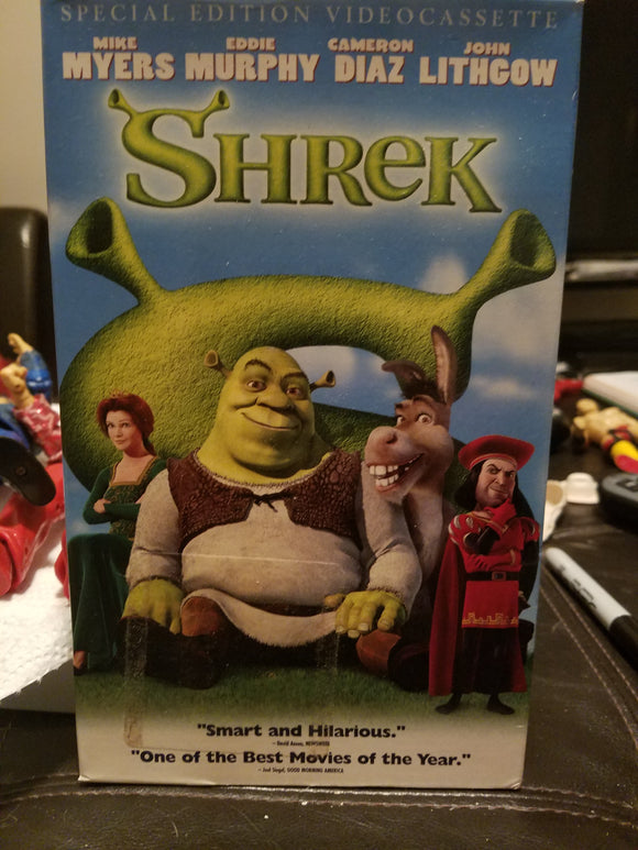 VHS - Shrek Special Edition Longbox