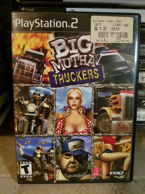 Playstation 2 Sony PS2 - Big Mutha Truckers Game Complete