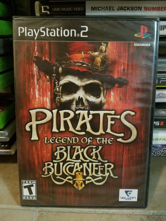 Playstation 2 Sony PS2 - NEW/SEALED Pirates Legend of the Black Buccaneer