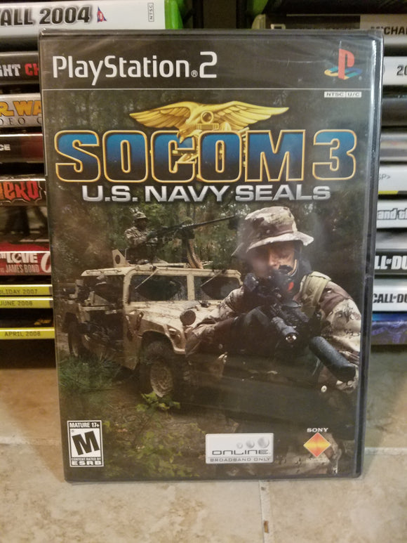 Playstation 2 Sony PS2 - SOCOM U.S. Navy Seals Complete
