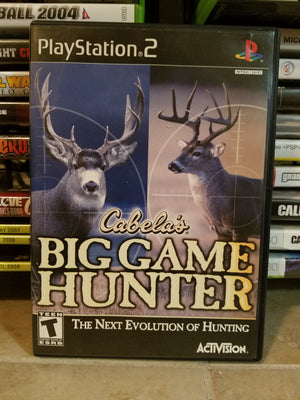 Playstation 2 Sony PS2 - Cabela's Big Game Hunter Complete