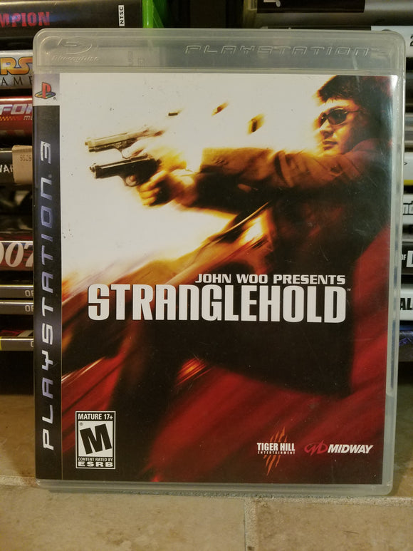 Playstation 3 Sony  PS3 - John Woo Presents Stranglehold Game