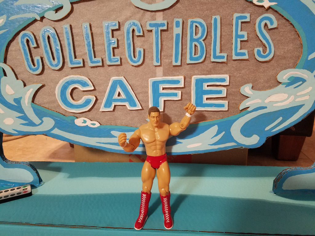 2003 Jakks WWE Ruthless Agression William Regal Red Tights Wrestling Figure