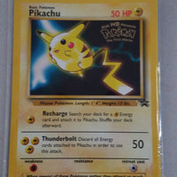 Pokemon - 1999 WB Black Star 1st Movie Pikachu Promo Card