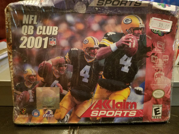 Nintendo64 - NFL QB Club 2001 - New / Sealed