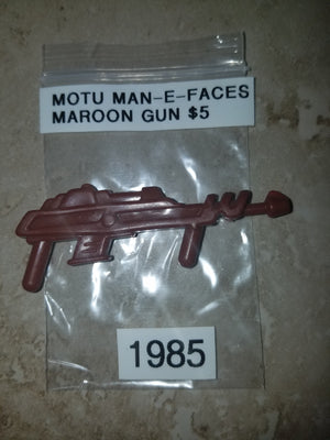 1985 MOTU Man-E-Faces Maroon Gun