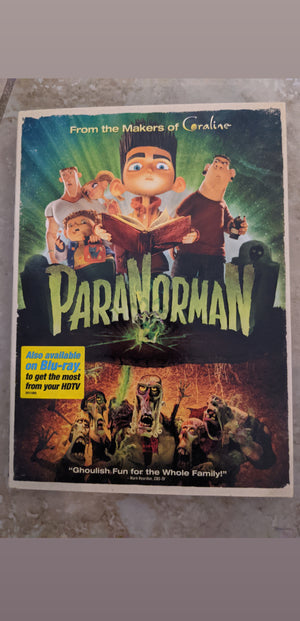Paranorman Sealed NEW DVD with slipcover